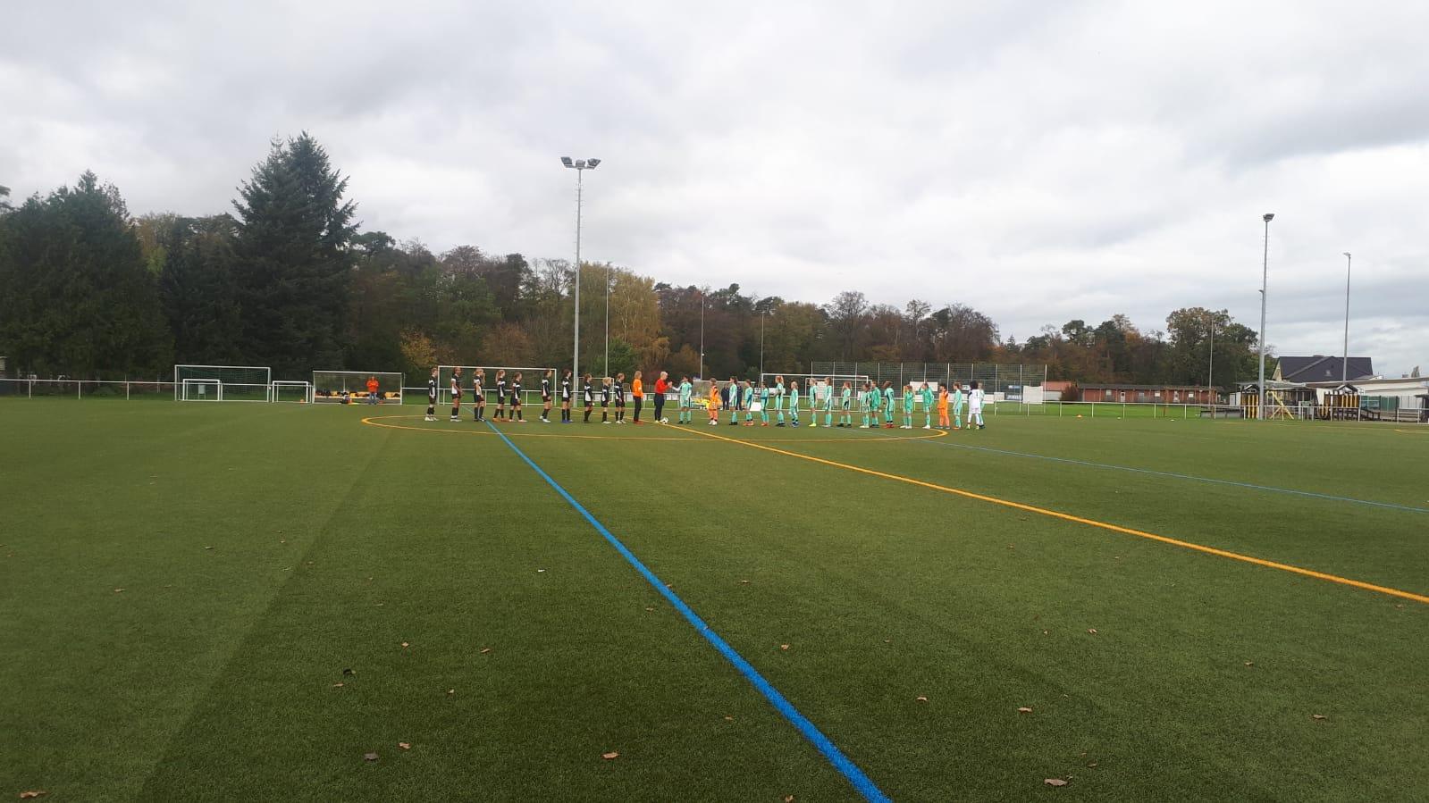 Spitzenspiel C-Mädchen gegen die TSG Hoffenheim